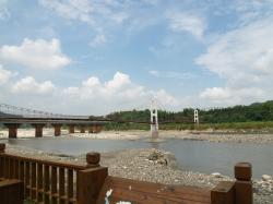 雙十吊橋照片